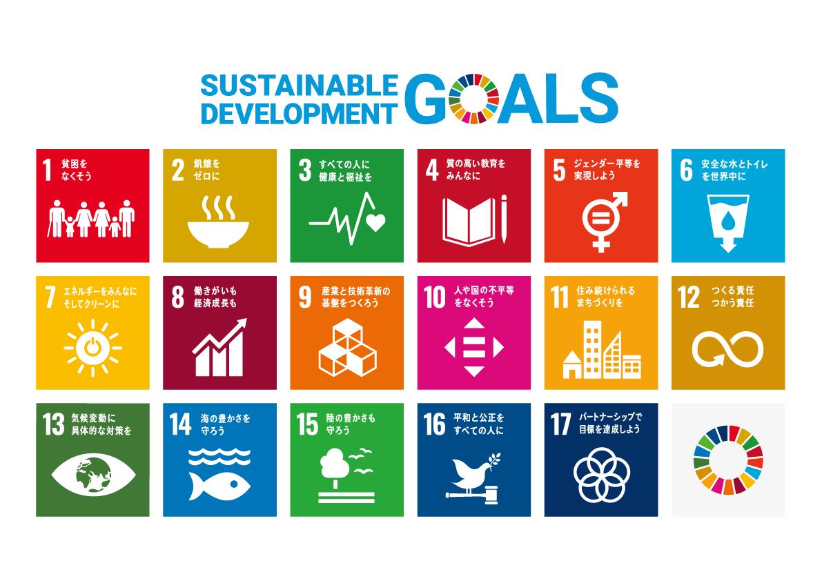 SDGsアイコン全部
